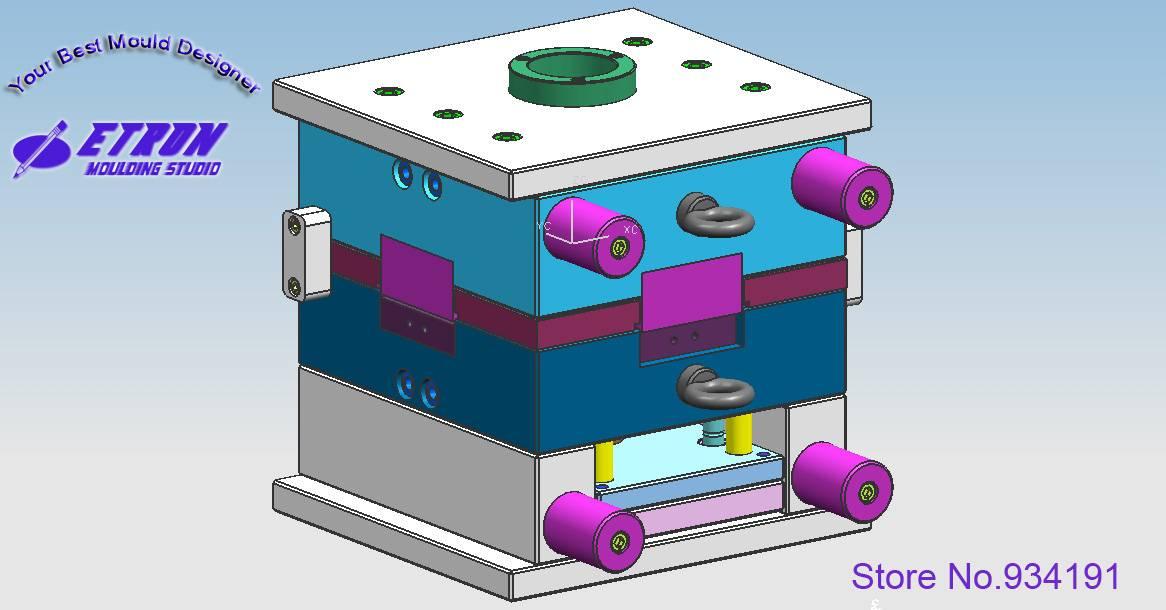 plastic part designing UG 3D design mould designers