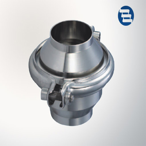 Sanitary Stainless Steel Welded Clamped Threaded Non Return Spring Check Valve