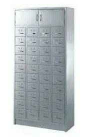Vetical China traditional medicine storage cabinet