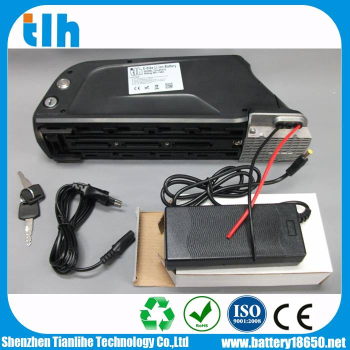 2015 Hot sales electric bicycle battery 48V 11.6Ah