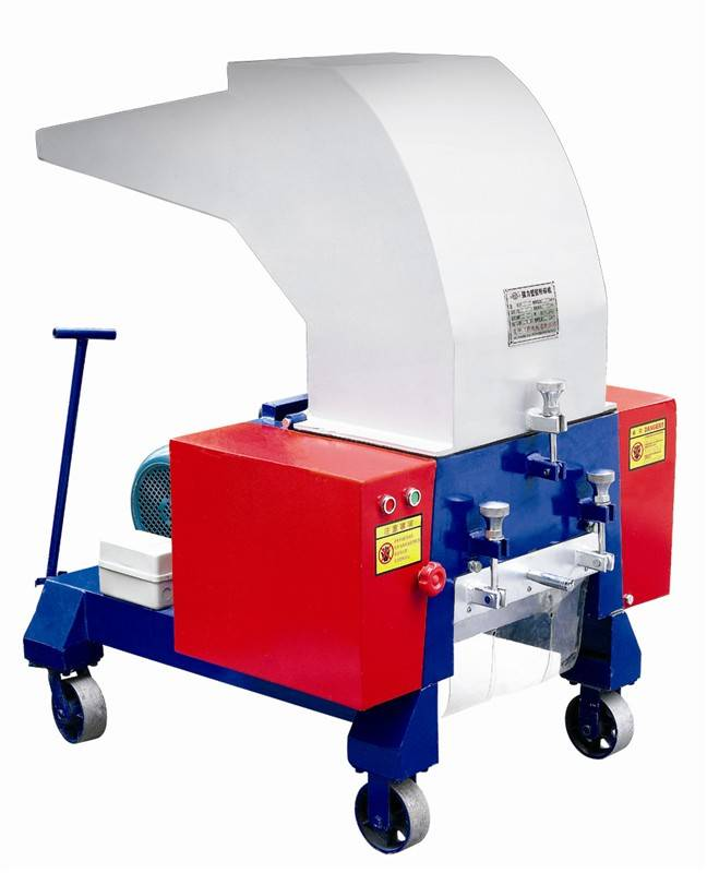 Film granulating machine with high quality