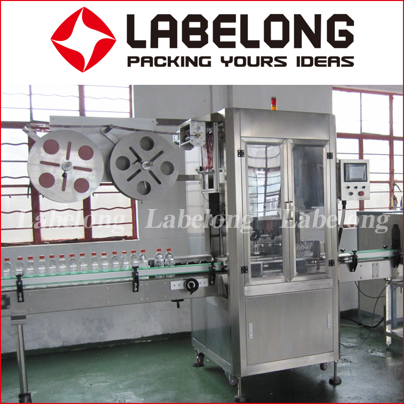 Automatic 6000bph Double Head Shrink Sleeve Labeling Machine