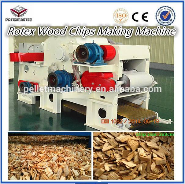 Hot Sale Drum Wood Chipper With CE Approved