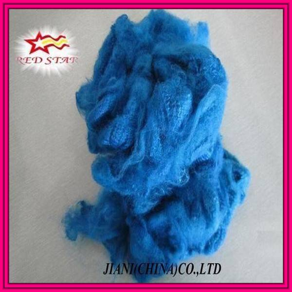 100% polyester recycled synthetic fibre