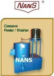 Cassava Skin Peeler Cum Washer