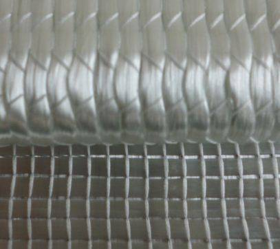 Biaxial glass fiber fabric
