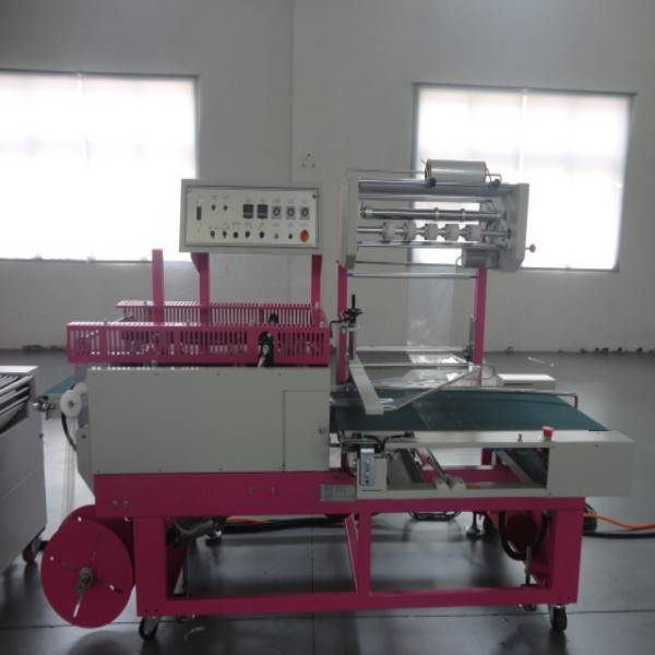 plc tracking 25-35 pcs/min 0.012mm pof shrink film auto packaging machine for calculating machine