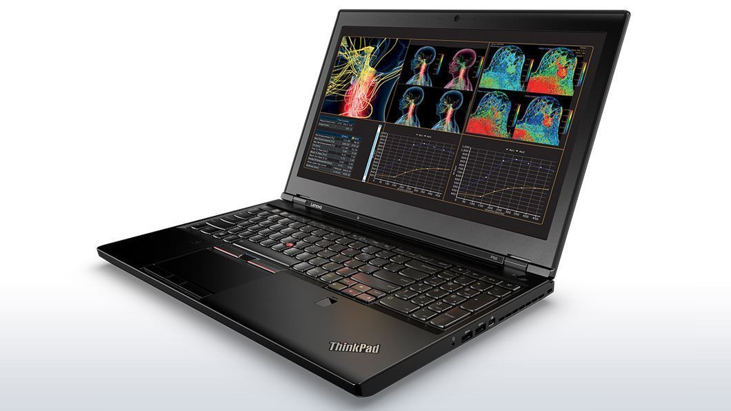 Lenovo ThinkPad P50 Mobile Workstation Laptop - Windows 7 Pro - Intel i7-6700HQ, 64GB RAM, 1TB SSD,