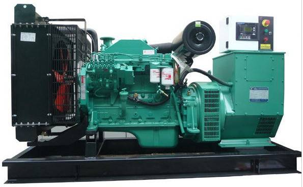 Cummins used diesel generators with 4-cylinder-in-line sale