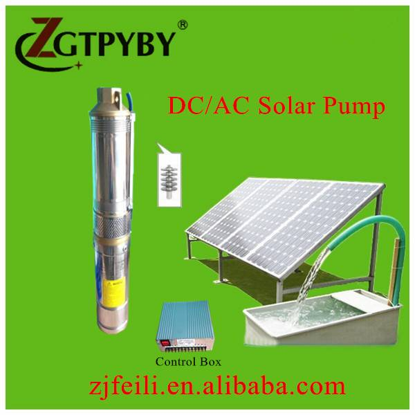 low power deep water pump water irrigation system