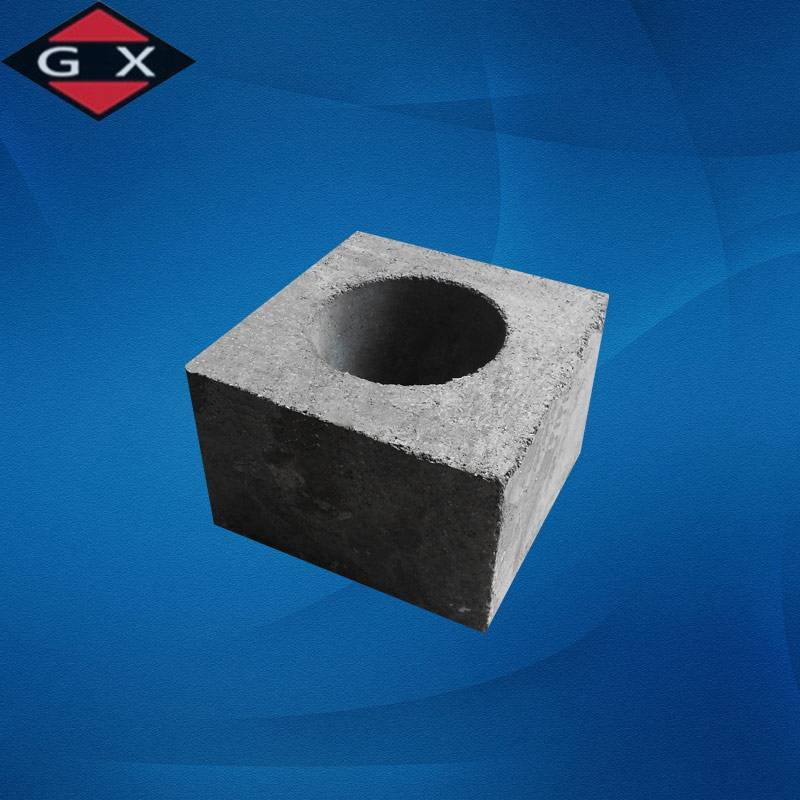 China Refractory Seating Block with Zirconia Insert