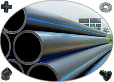 ISO Standard Plastic PE Pipe PE Tube HDPE Pipe for Water System