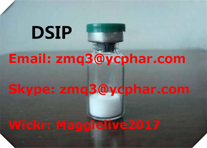DSIP CAS 62568-57-4 Growth Hormone Peptides Delta Sleeping Inducing