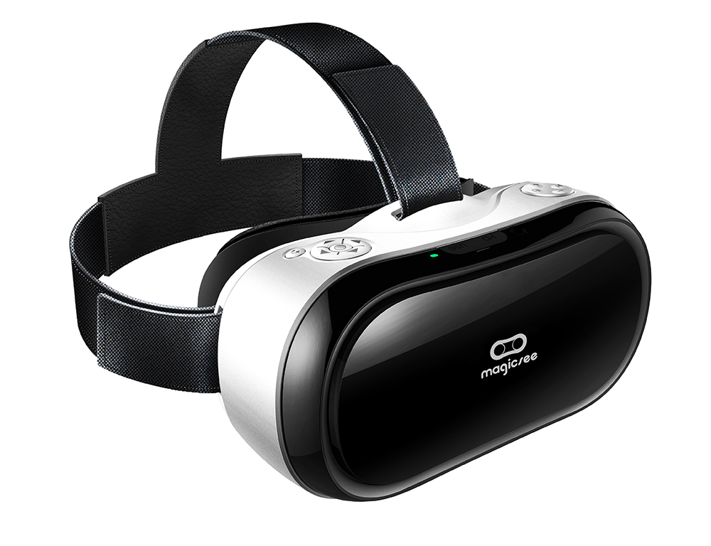 VR headset New arrival Quad core VR all in one Virtual Reality 3D glasses Magicsee M1