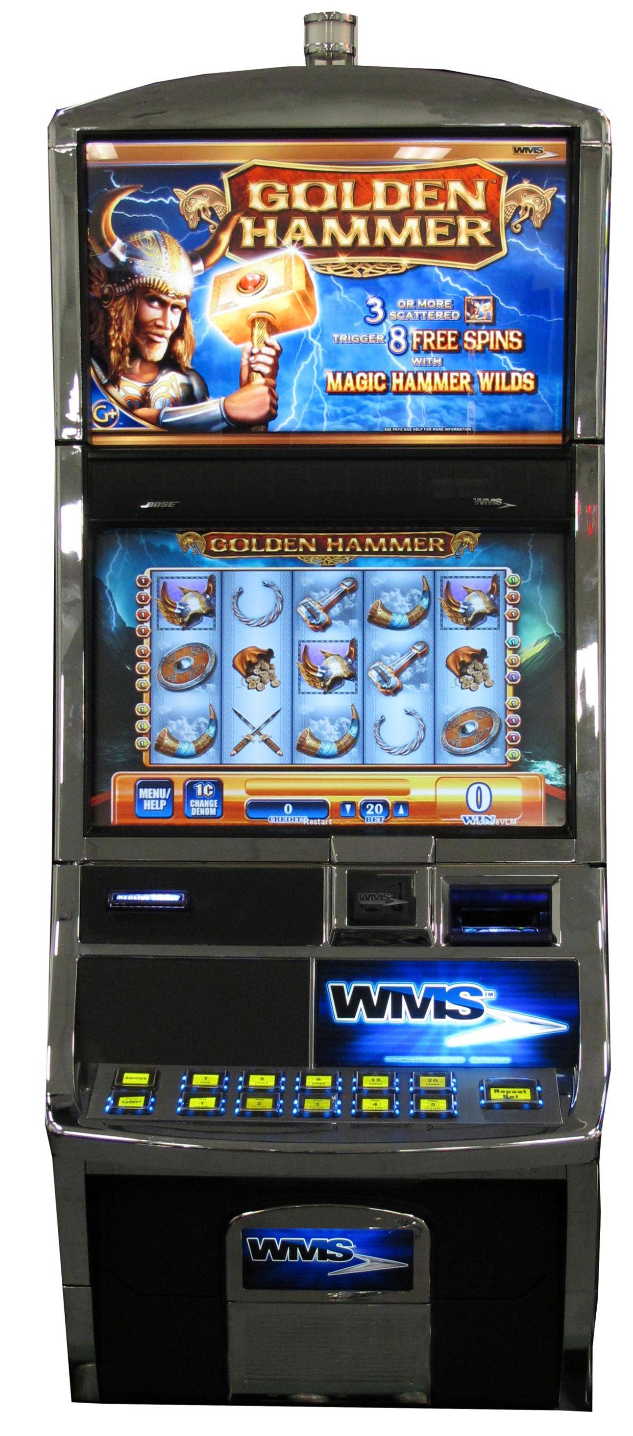 WMS BlueBird 2 used slot