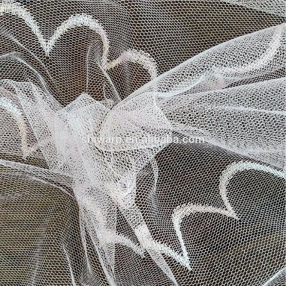 Warp knit 100% polyester fabric mosquito nets fabrics