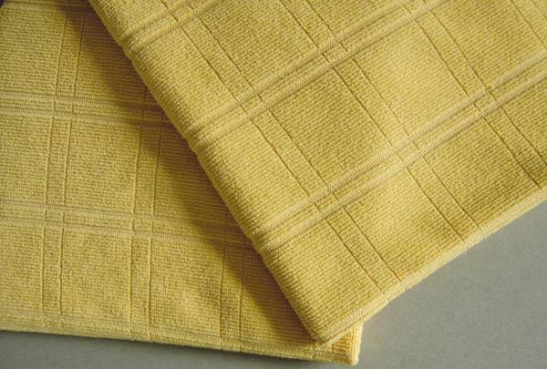Microfiber Knitted Check Cloth