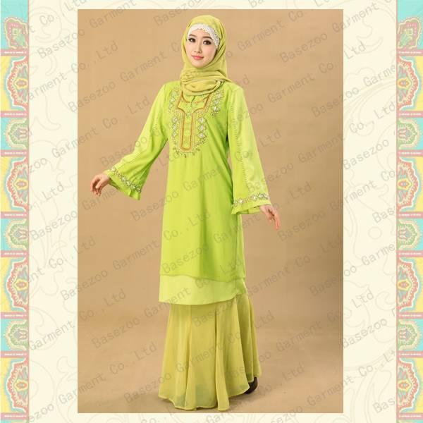 Summer dress malaysia baju kurung MF19157