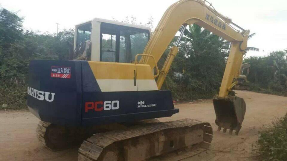 Used Japan Original Komatsu PC60-6 Crawler Excavator