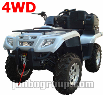 4x4 Quad Bike 400cc Independent Suspension Shaft Drive