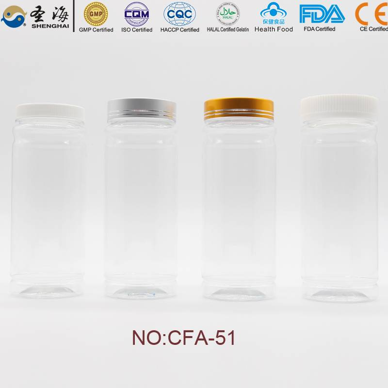 380ml Factory Direct Sale PET Bottle OEM Design Plastic Bottle Manufacturer