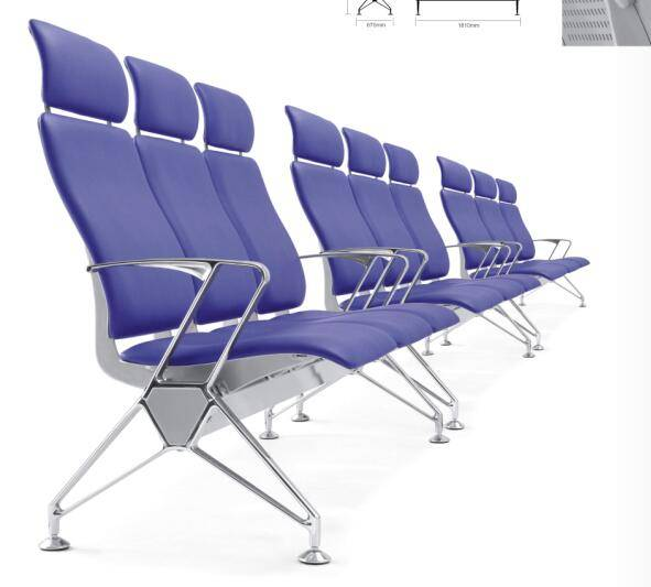 Terminal seats for public waiting area