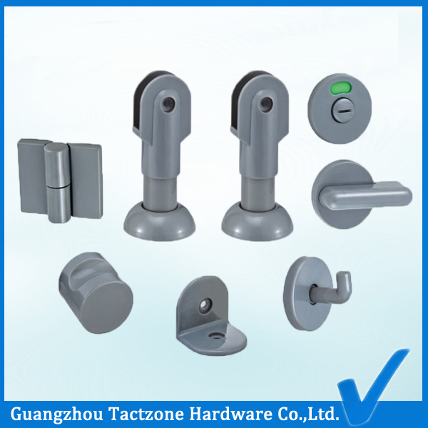 Factory Directly Bathroom Cubicle Hardware Toilet Partition Set