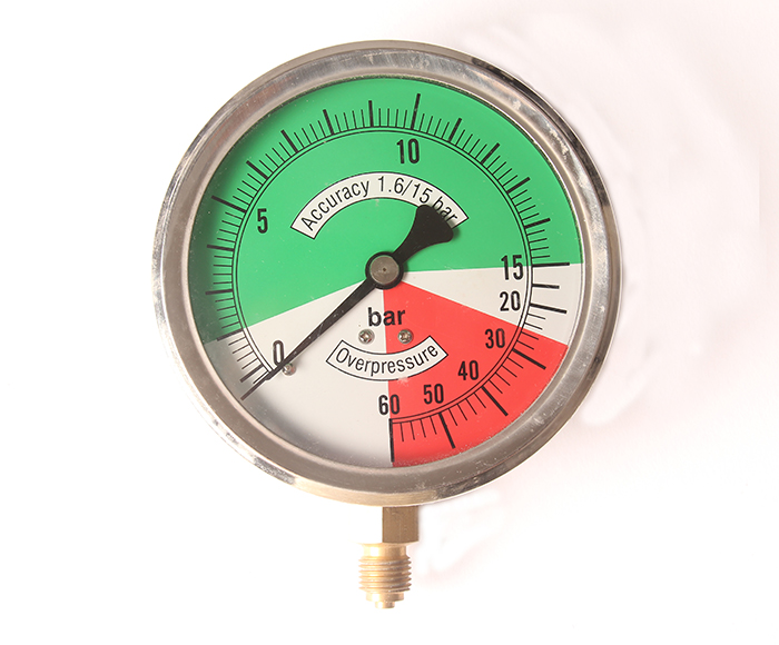 Non-linear Pressure Gauge,bottom connection
