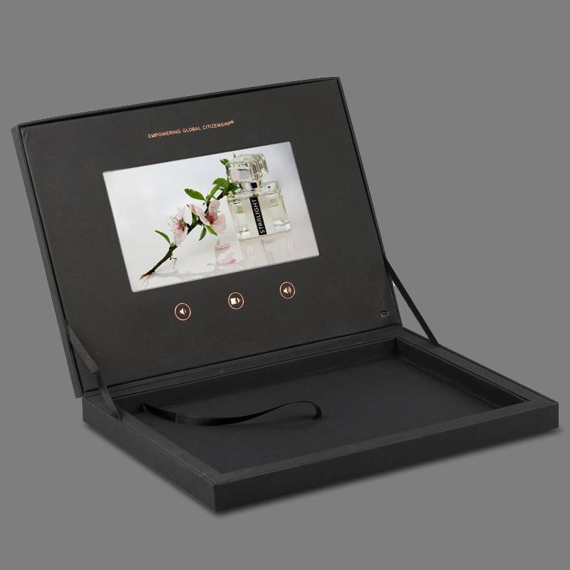 "Newest custom design 10.1""video presentation boxes"