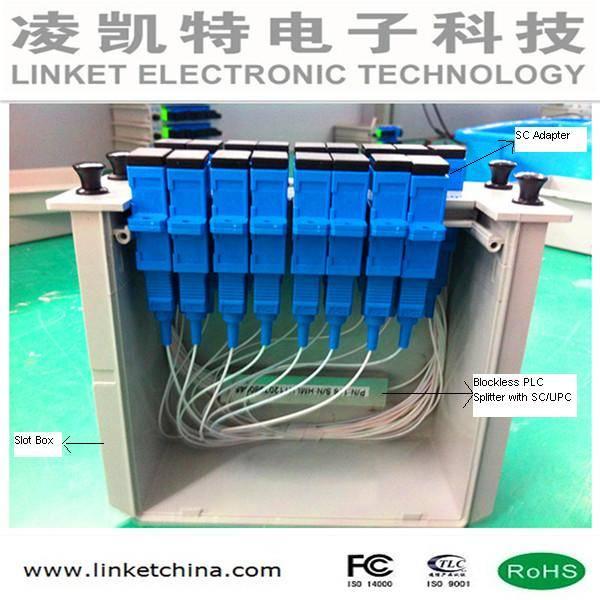 1*16 PLC Splitter Slot box