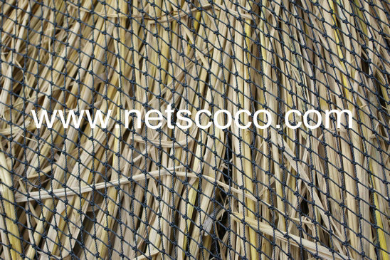 Netscoco Roofing Net / Black RoofIng Net / Roofing Net / Thatch Roofing Net