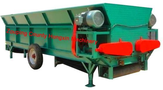 Durable log debarkr log peeeling machine for paper-making plant