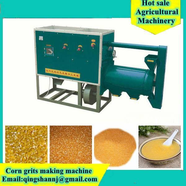 corn grits machine