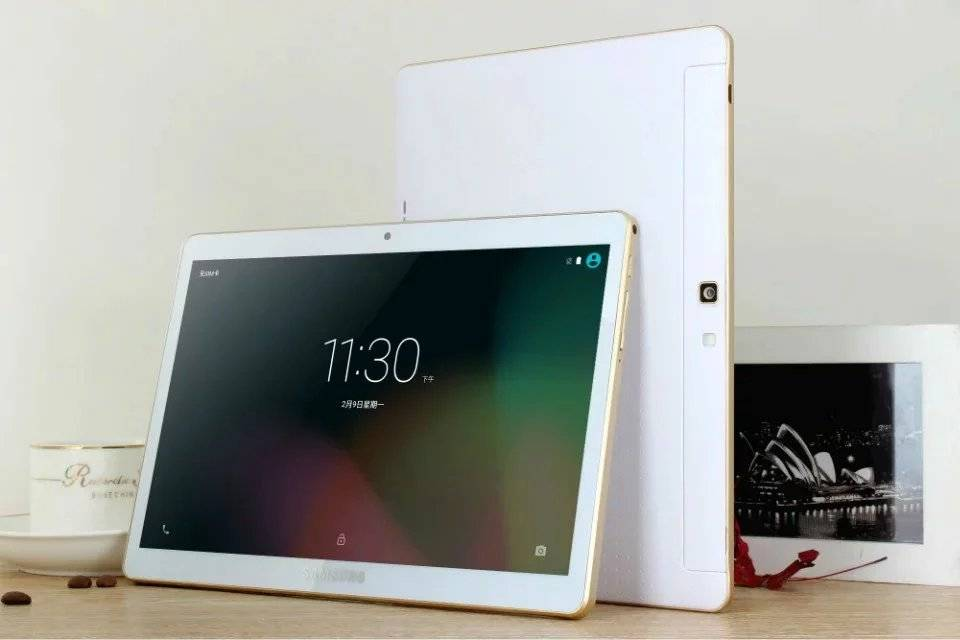9.6 Inch White Tablet PC