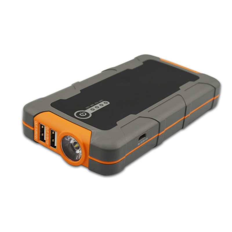 Mini Jump Starter for 4L Gas Diesel Vehicles Error-Proof Voltage Sensor Temperature Control 40X Time