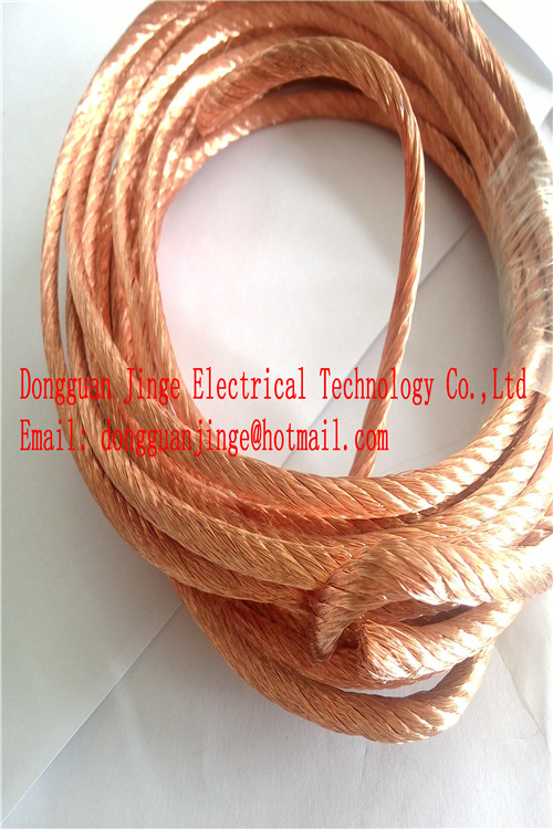 Copper stranded wire custom size from China