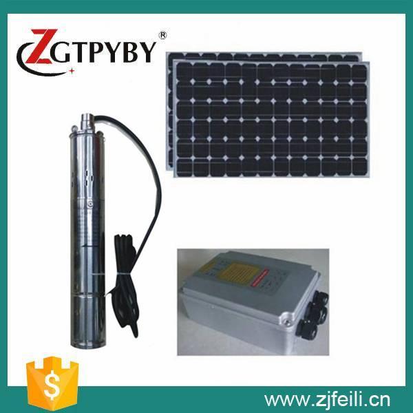 solar water pump for wells solar irrigation pumps