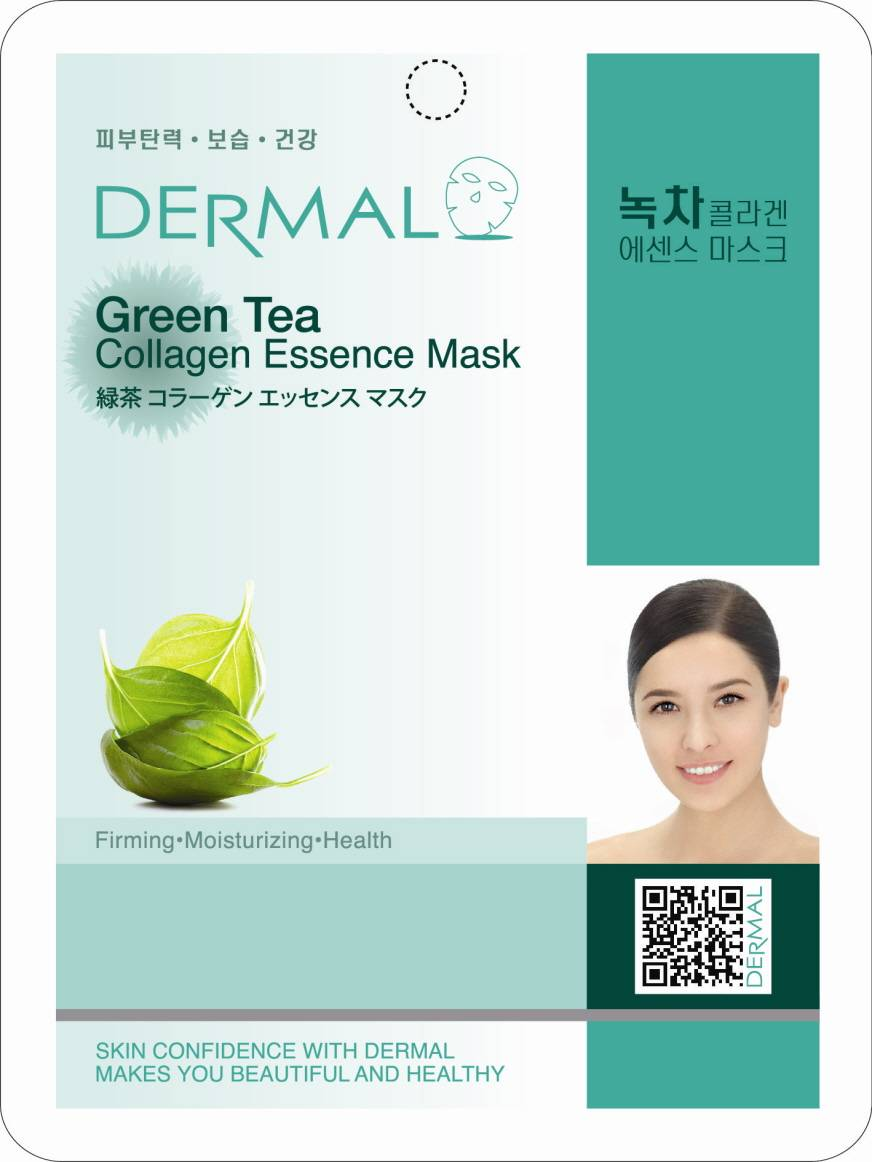 Dermal Green Tea Collagen Essence Mask