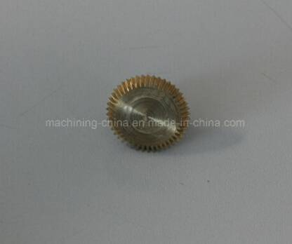 CNC Machining Free Machining Brass Gear