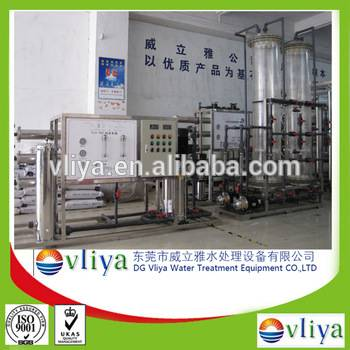 Vliya ultrafiltration ion exchanger mineral water plant