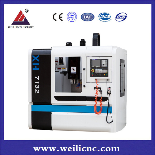 XH7132 high precision metal vertical cnc milling machine