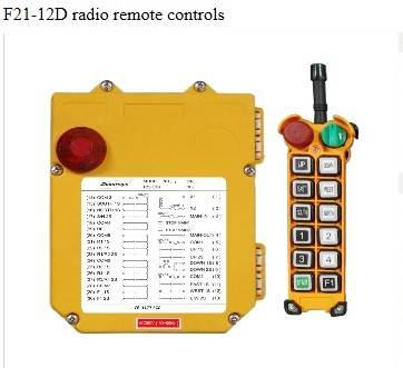 F21-12D radio remote controls