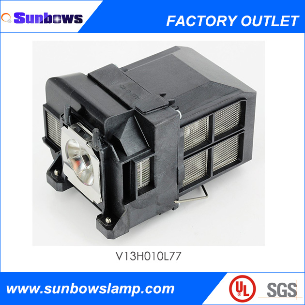 comaptible projector lamp with housing elplp77 for epson