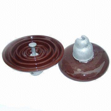 High voltage Disc Suspension porcelain insulator
