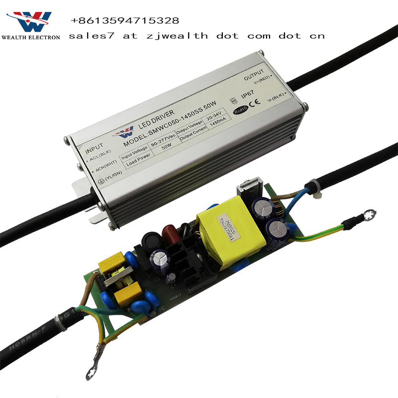 30W 40W 50W 200W Ip67 Control Constant Waterproof 0-10V Dimmable Led Driver Switching Power Supply