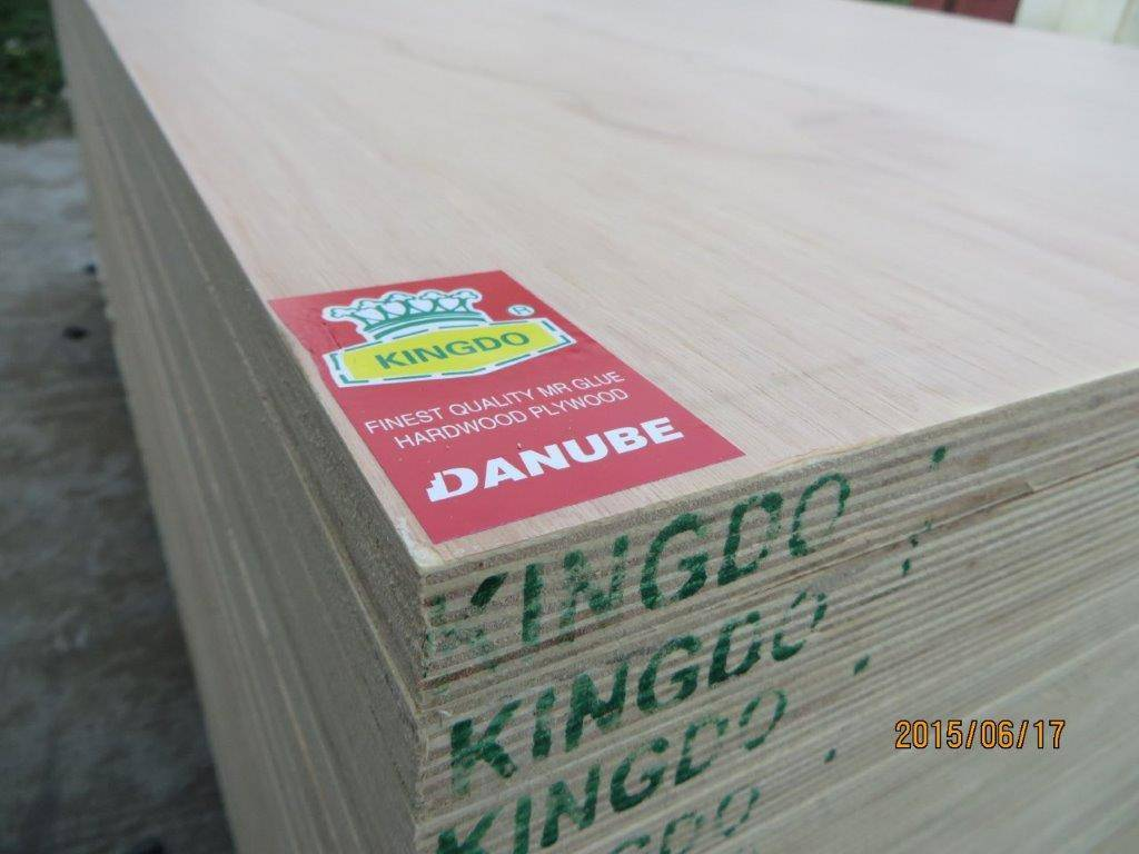 COMMERCIAL PLYWOOD / FURNITURE GRADE PLYWOOD. KINGDO BRAND