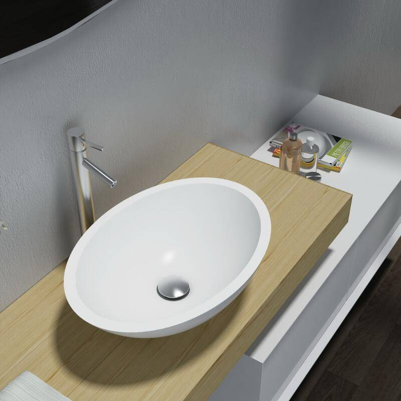 Artificial Stone Table Top Basin (PB2106)
