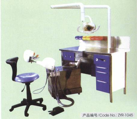 Imitation system for dentistry teaching experiment