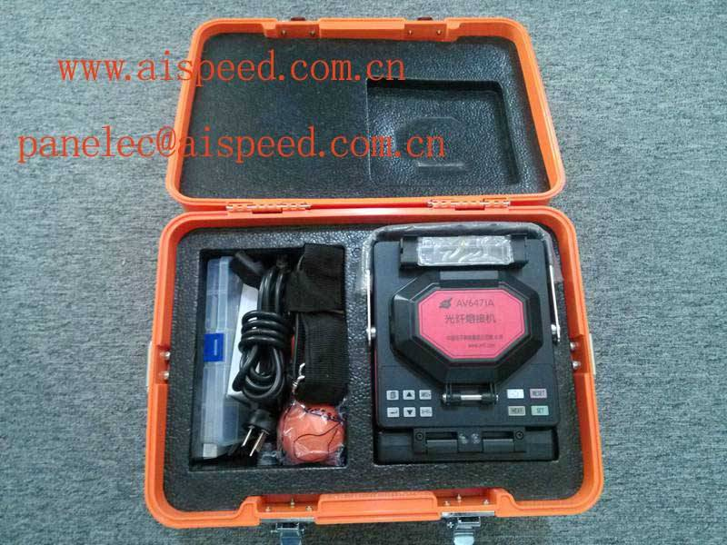 CETC AV6471A Optical Fiber Fusion Splicer(China, low price good quality,longlife electrodes,low spli