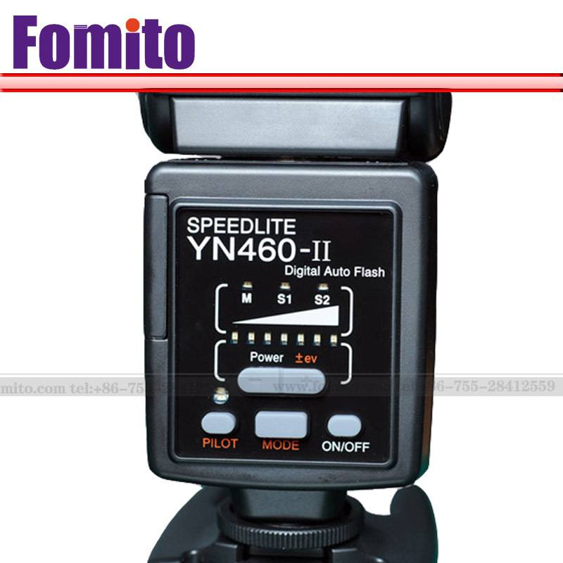 Fomito Yongnuo YN-460 II YN460II YN 460 II Flash Speedlight/Speedlite +Free Shipping